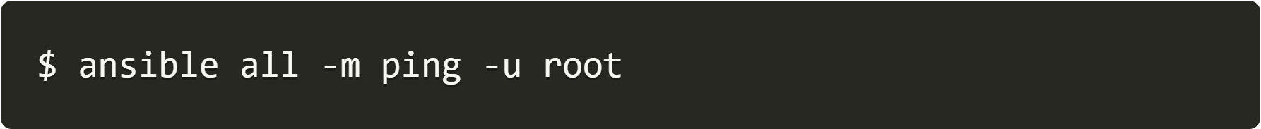 ansible all root