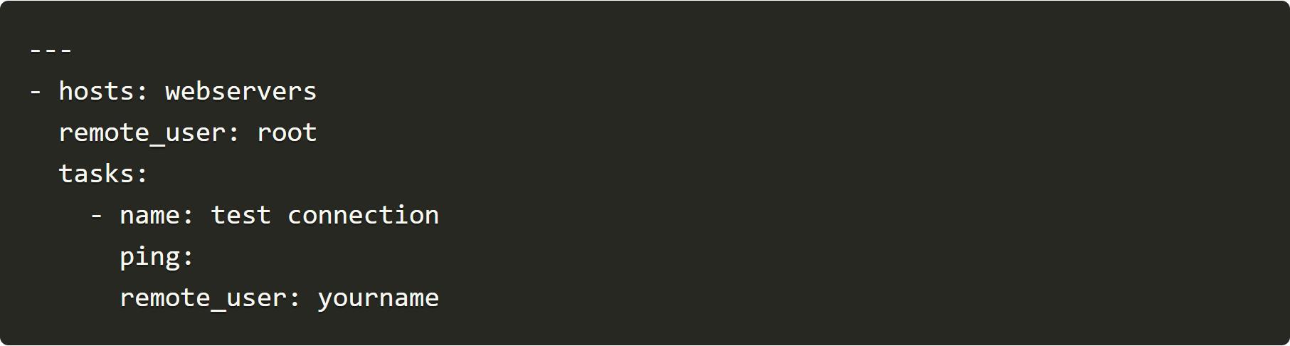 especificar usuarios remote_user root