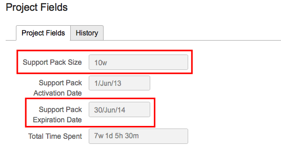 Support Pack Expiration Date