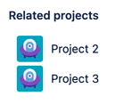 A Profields, project field for Jira to announce which other projects are related