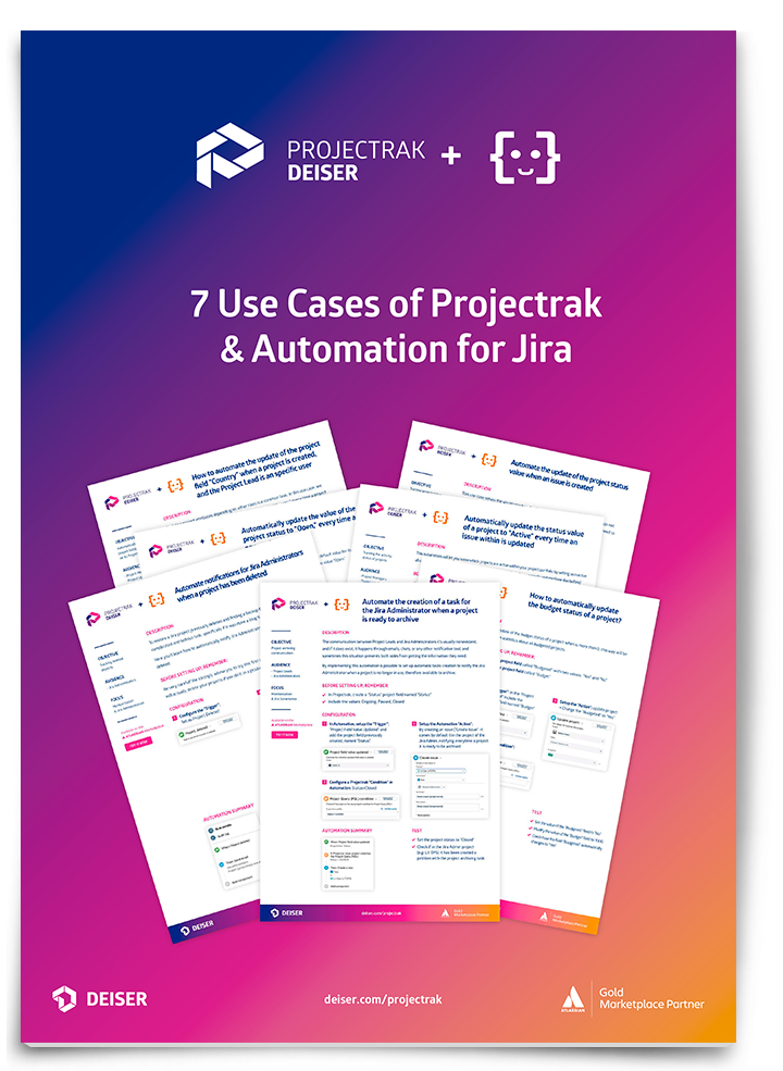 Automate ITSM projects with Projectrak and Automation for Jira