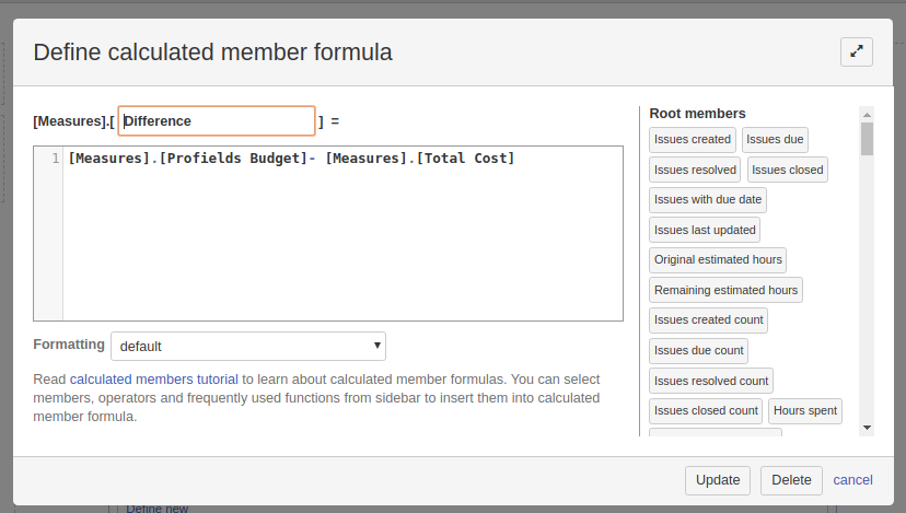 Jira project level dashboard by eazyBI and Profields integration