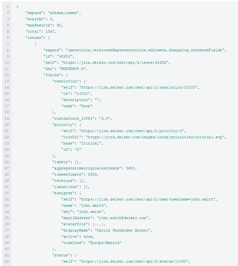 ¿Cómo exportar issues de Jira a través de la Jira REST API?