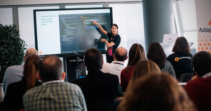 Adaptavist dando un taller en los DEISER Enterprise Days 2018
