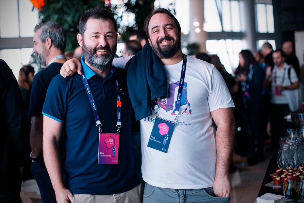 Representantes de DEISER y Comalatech, partes del entorno Atlassian