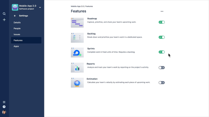 Jira Next Gen Projects: Nuevas características en Jira Cloud