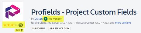 Profields una app del Marketplace de Atlassian que adapta las necesidades de los gestores de proyectos en Jira