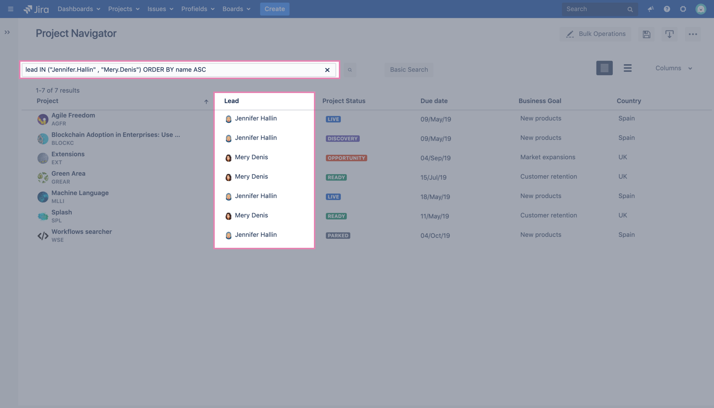 Build project level reports in Jira with Profields and eazyBI