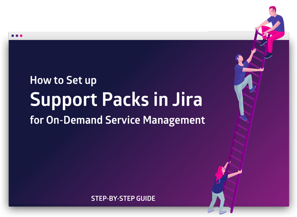 How to Set up Support Packs in Jira for On-Demand Service Management