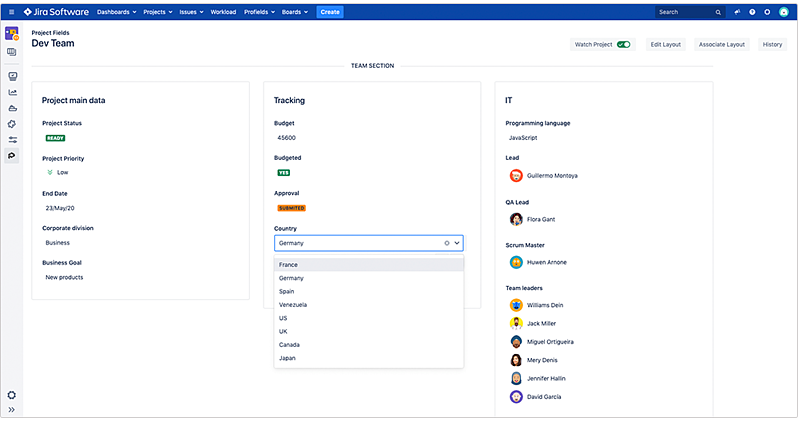 give-values-to-jira-project-navigator-from profields-deiser-atlassian