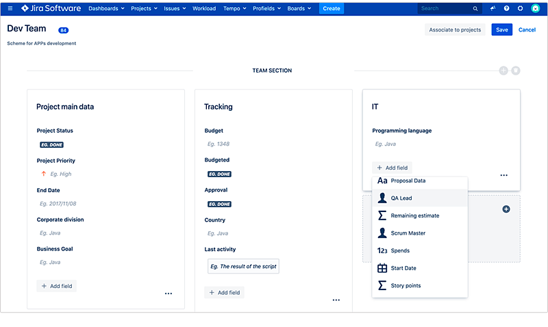 how-to-create-a-project-custom-fields-in-jira-with-profields-from-deiser-atlassian