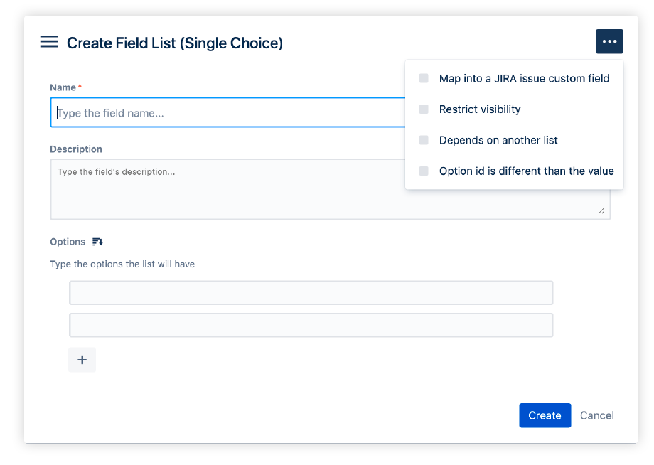 How to create a fields list in Profields for Jira